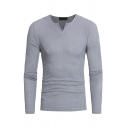 New Arrival Plain Long Sleeve Slim Fitted Casual Ribbed Knit Pullover Sweater Top