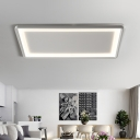 Frosted Acrylic Rectangle Ceiling Lamp 35.5
