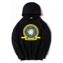 MIDTOWN SCHOOL OF SCIENCE AND TECHNOLOGY Letter Logo Printed Oversized Hoodie