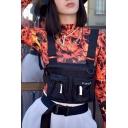 Orange Street Long Sleeve Mock Neck Flame Patterned Slim Fit T-Shirt for Female