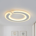 Simple Style Gap Round Ceiling Lamp 16.5