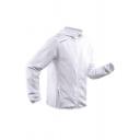Mens Outdoor Training Long Sleeve Zip Up Plain Thin Hooded Track Jacket Coat
