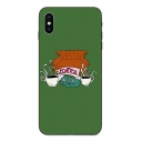 Classic CENTRAL PERK Coffee Pattern Mobile Phone Case for iPhone