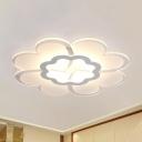 Modern Stylish LED Flush Mount Light 16