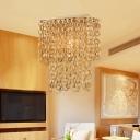 Rectangle Hanging Ceiling Light Modern Bamboo 1 Light Beige Suspension Pendant with Tassel Deco