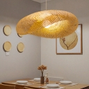 Modern Twist Hanging Light Kit Bamboo 16