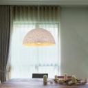 Dome Pendant Lamp Minimalist Metal 12