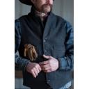 Guys Popular Plain Gray Single Breasted Sleeveless Vest Casual Waistcoat