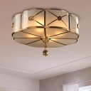 Traditional Scalloped Ceiling Mounted Light 14