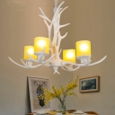 Starburst Chandelier Lamp Cottage 27.5