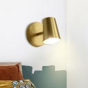 Metal Brass Vanity Wall Sconce Tapered 1/2/3-Light Traditional Wall Lamp Fixture for Bathroom