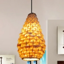 Hand-Woven Hanging Light Chinese Bamboo 8