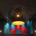 Decorative Teardrop/Globe Ceiling Light 5