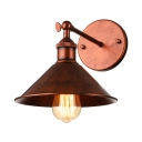 8'' H Wall Light Antique Copper 1 Light  Indoor LED Wall Lamp