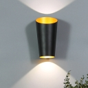 White/Black Cylinder Wall Light Fixture Modernism LED Aluminum Wall Mount Sconce for Bedside