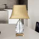 Wide Flare Task Lighting Contemporary Fabric 1 Bulb 22