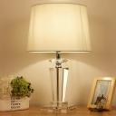 Drum Study Lamp Modern Fabric 1 Head 21