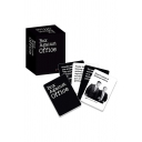 Popular Letter BOX AGAINST OFFICE Printed Party Games Card in Black