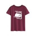 Leisure Girls Short Sleeve Round Neck Letter I CAN'T SPARE A SQUARE Toilet Paper Graphic Loose Fit T-Shirt