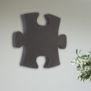 White/Black Jigsaw Puzzle Wall Lighting Nordic LED Acrylic Sconce Lamp Fixture in White/Warm Light