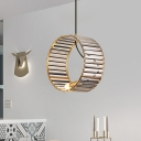 Prismatic K9 Crystal Wristlet Pendant Minimalist 1 Head Dining Table Suspension Light with Brass Trim