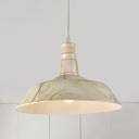 1 Head Pot-Lid Pendulum Light Nordic White/Coffee/Green Aluminum Ceiling Suspension Lamp over Table