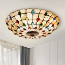 Bowl Flush-Mount Ceiling Light 16