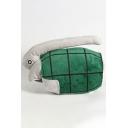 Lovely Comic Turtle Shaped Velvet Cosplay Glove in Green