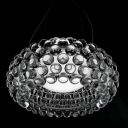Acrylic Ball Clear Transparent Pendant Light