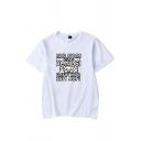 Simple Seniors 2020 the One Where They Were Printed Short Sleeve Round Neck Regular Fit T-Shirt for Men
