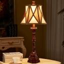 Farmhouse Empire Shade Table Lighting 1-Light 25.5