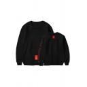 Popular Kpop Boy Band Logo Love Yourself Letter Print Unisex Pullover Sweatshirt