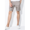 Casual Mens Shorts Checked Pattern Pocket Drawstring Mid Rise Regular Fitted Shorts