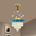Layered Hanging Chandelier Classic 14
