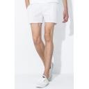 Stylish Mens Shorts Striped Pattern Pocket Drawstring Mid Rise Regular Fit Shorts