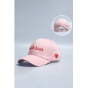 Fashion Embroidery Pattern Outdoor Baseball Cap