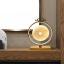 Round Jade Table Light Simple 11
