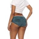 Women's Buff Lifter Hip Enhance Elastic Waist Skinny Hot Shorts