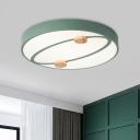 Planet Orbit Ceiling Light Fixture Macaron Acrylic 16