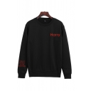 Trendy Letter Harry Styles Treat People With Kindness Printed Crew Neck Long Sleeve Relaxed Fit Pullover Sweatshirt