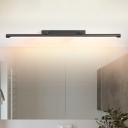 Modern Tube Vanity Lamp Fixture Metal 16.5