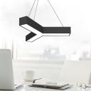 Black/White Y Designed Pendant Contemporary 14