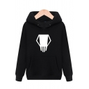 Womens Hoodie Stylish Abstract Pattern Anime My Hero Academia Drawstring Kangaroo Pocket Regular Fitted Long Sleeve Hoodie