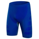 Retro Mens Shorts Abstract Pattern Stretch Quick-Dry Compression Skinny Fitted Sport Shorts