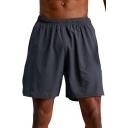 Mens Shorts Stylish Air Mesh Quick Dry Sweat-Absorbing Regular Fitted Drawstring Waist Knee-Length Sport Shorts