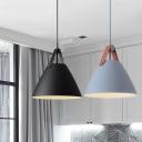 Conical Frustum Bedside Pendulum Light Metallic 10.5