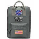 Chic NASA Symbol Letter Applique Large Capacity Backpack School Bag