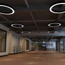 Acrylic Hoop Shaped Suspension Lamp Minimal 16