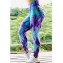 Cool Women's Leggings Multi Color Focus Lift the Hips High Waist Elasticity Ankle Length Slim Fitted Yoga Leggings