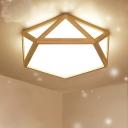 Diamond Flush Ceiling Light Modern Acrylic 15